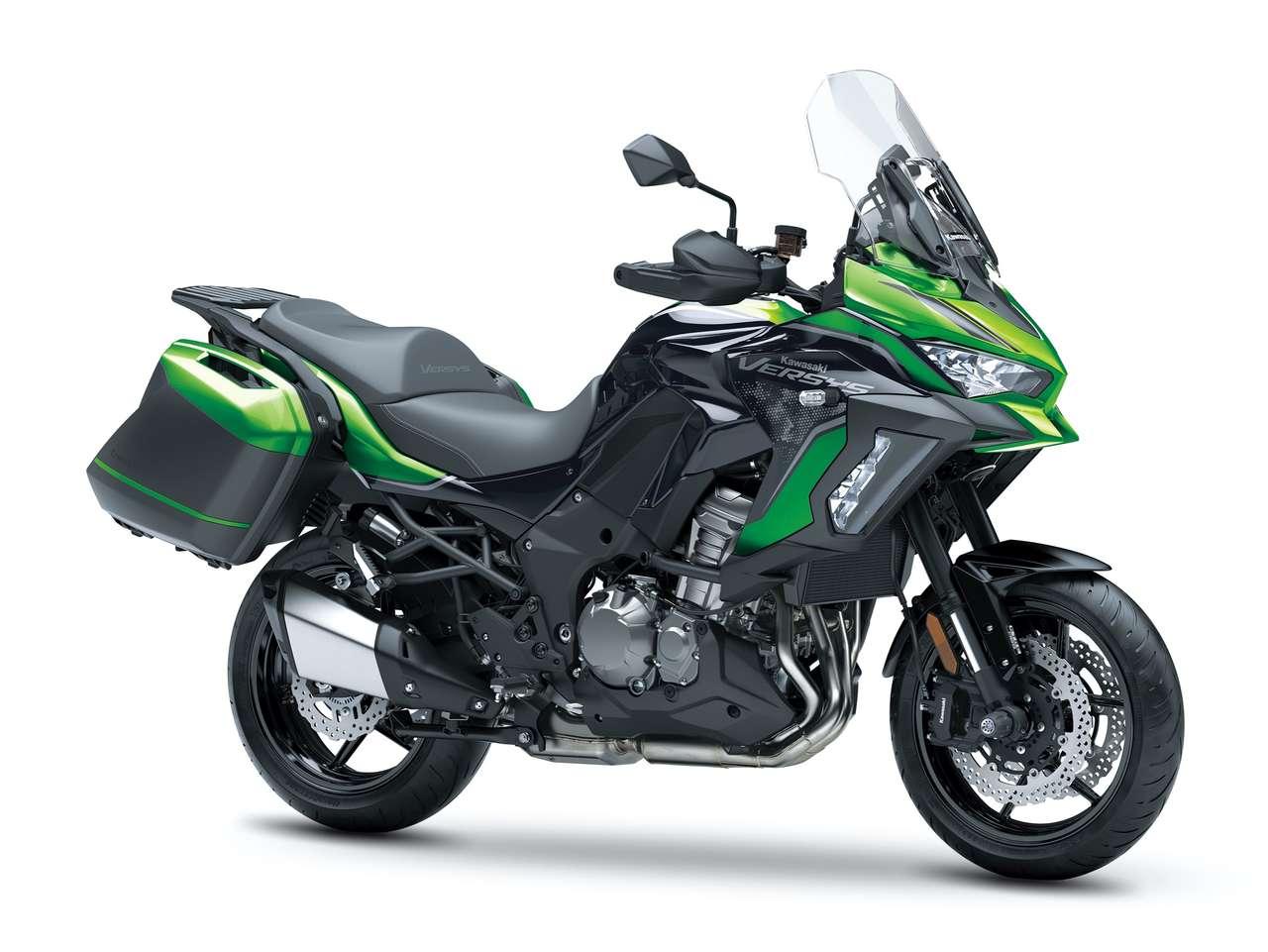 Kawasaki Versys 1000 S mit Tourer-Paket ...
