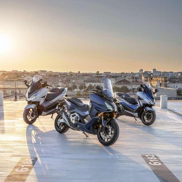 Neu für 2021: Honda Forza 350, Forza 750, Forza 125.
