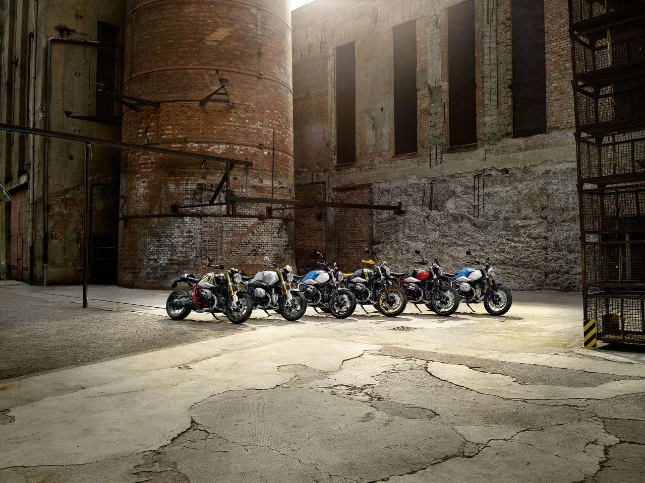 Die BMW Motorrad R nineT Modelle 2021