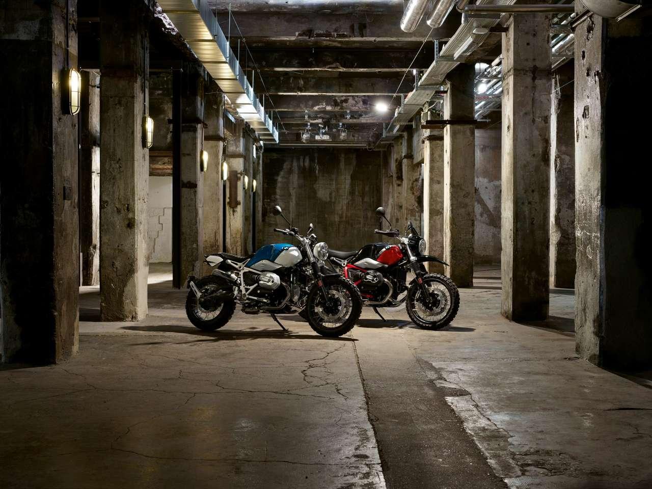 BMW R nineT Scrambler und Urban GS 2021