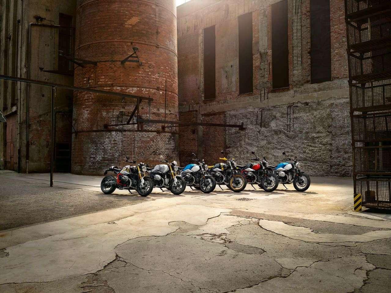 Die BMW R nineT Modelle 2021