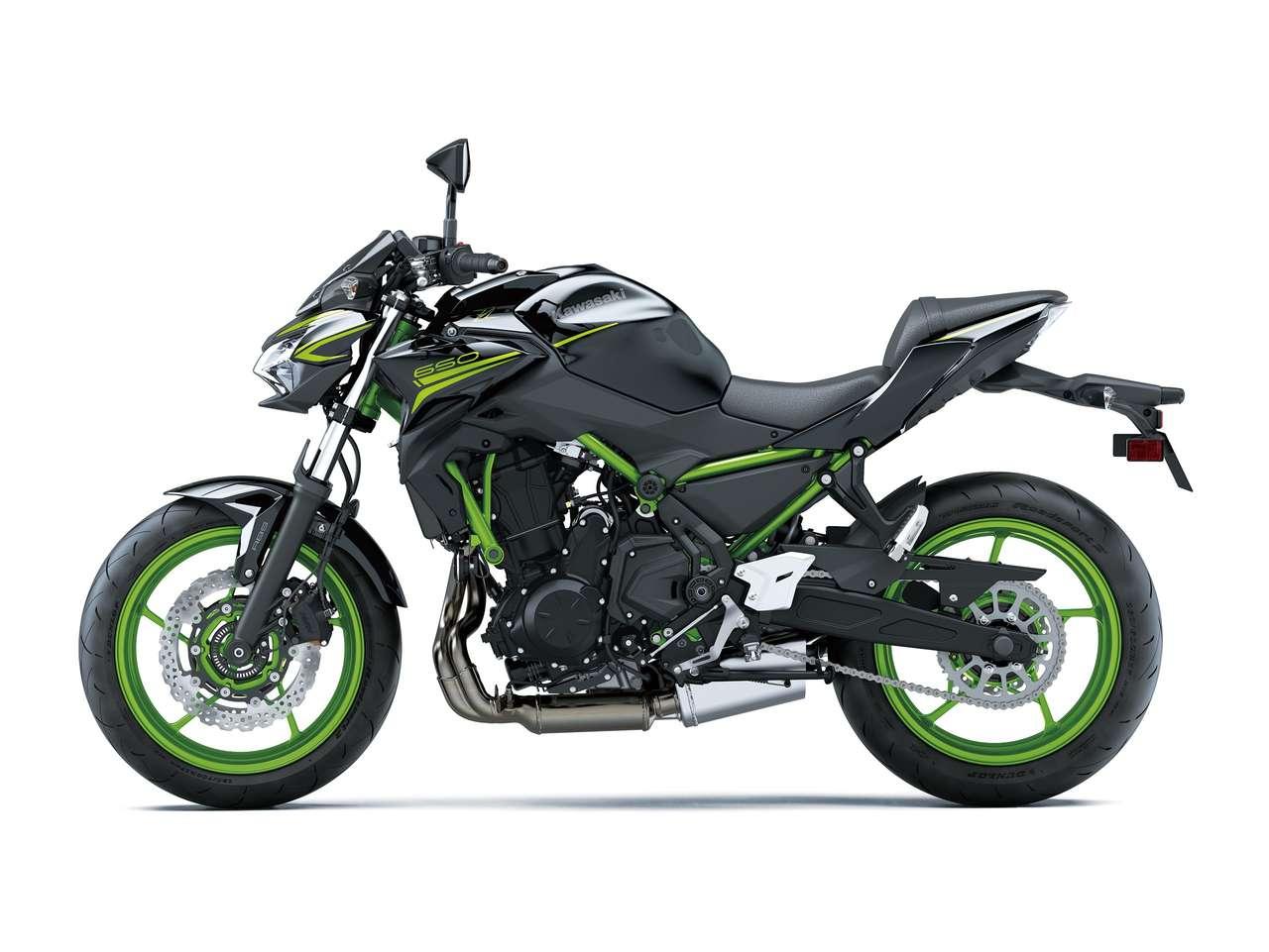 Kawasaki Z650 2021: Metallic Spark Black