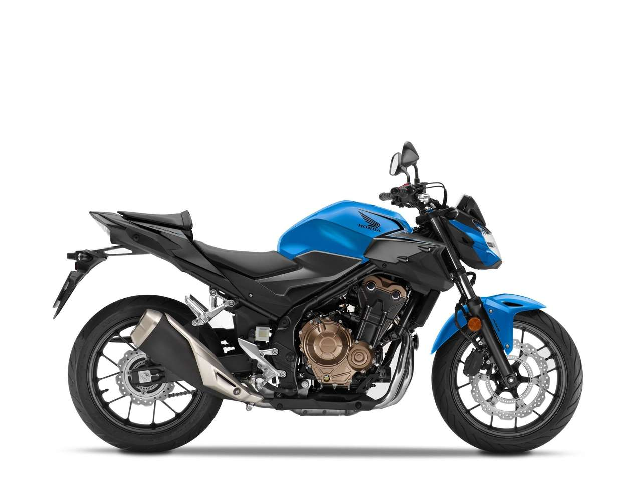 Honda CB500F 2021 - Candy Caribbean Blue Sea