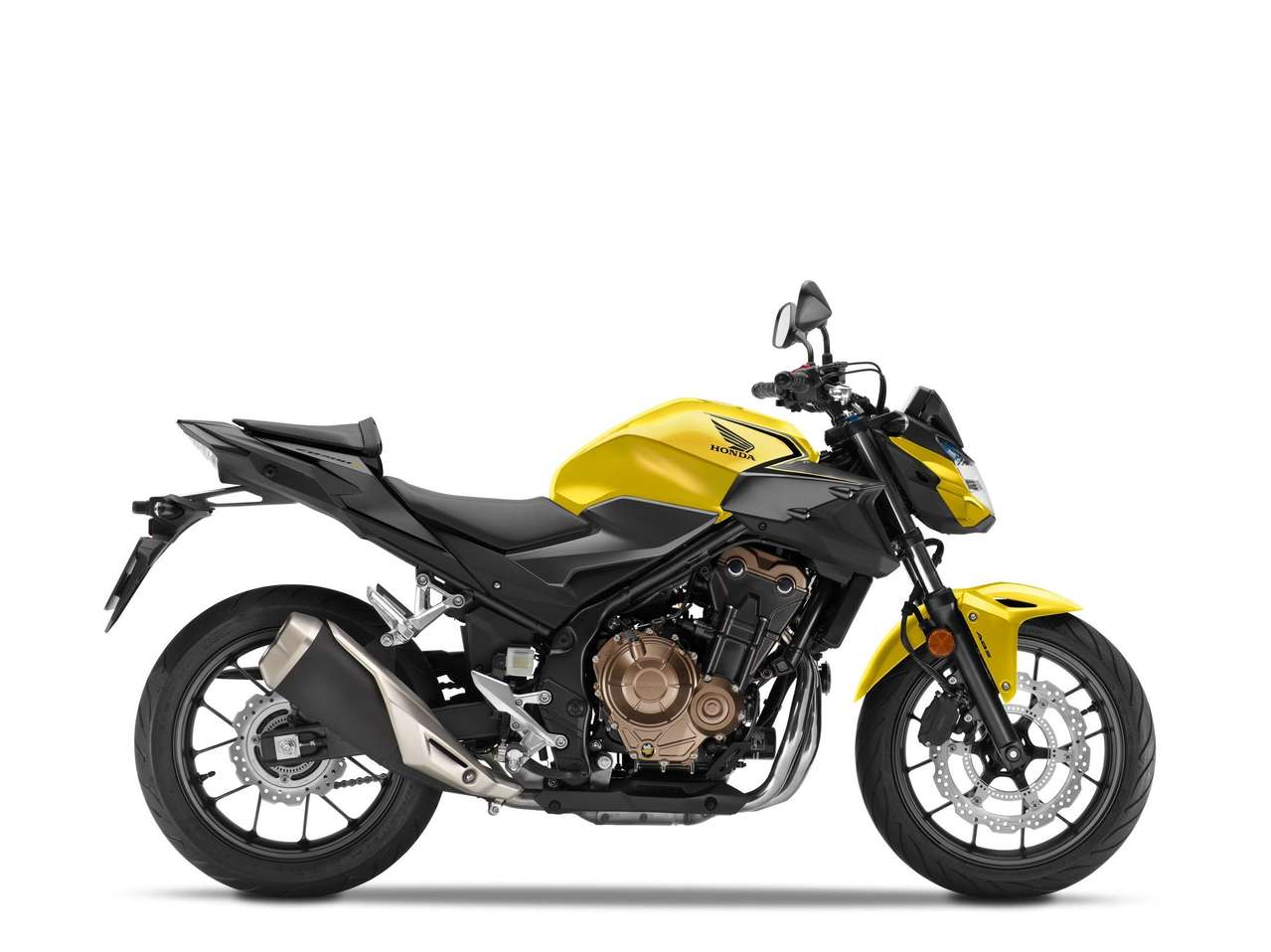 Honda CB500F 2021 - Candy Moon Glow Yellow