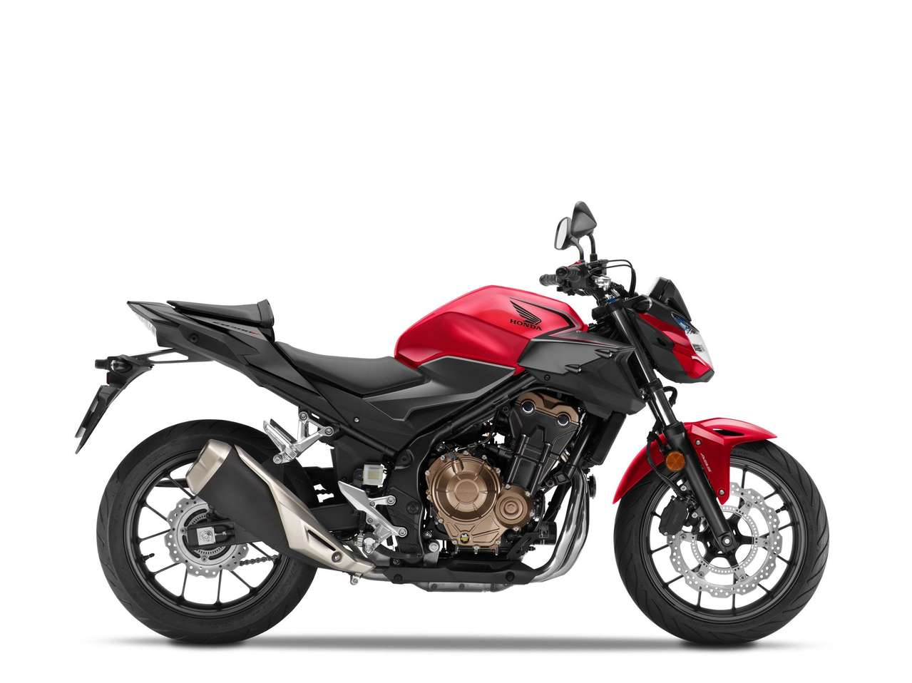 Honda CB500F 2021 - Grand Prix Red