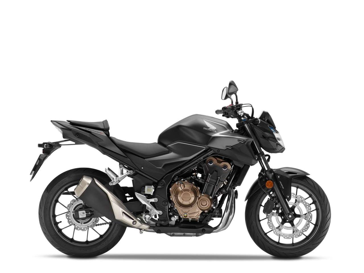 Honda CB500F 2021 - Matt Gunpowder Black Metallic