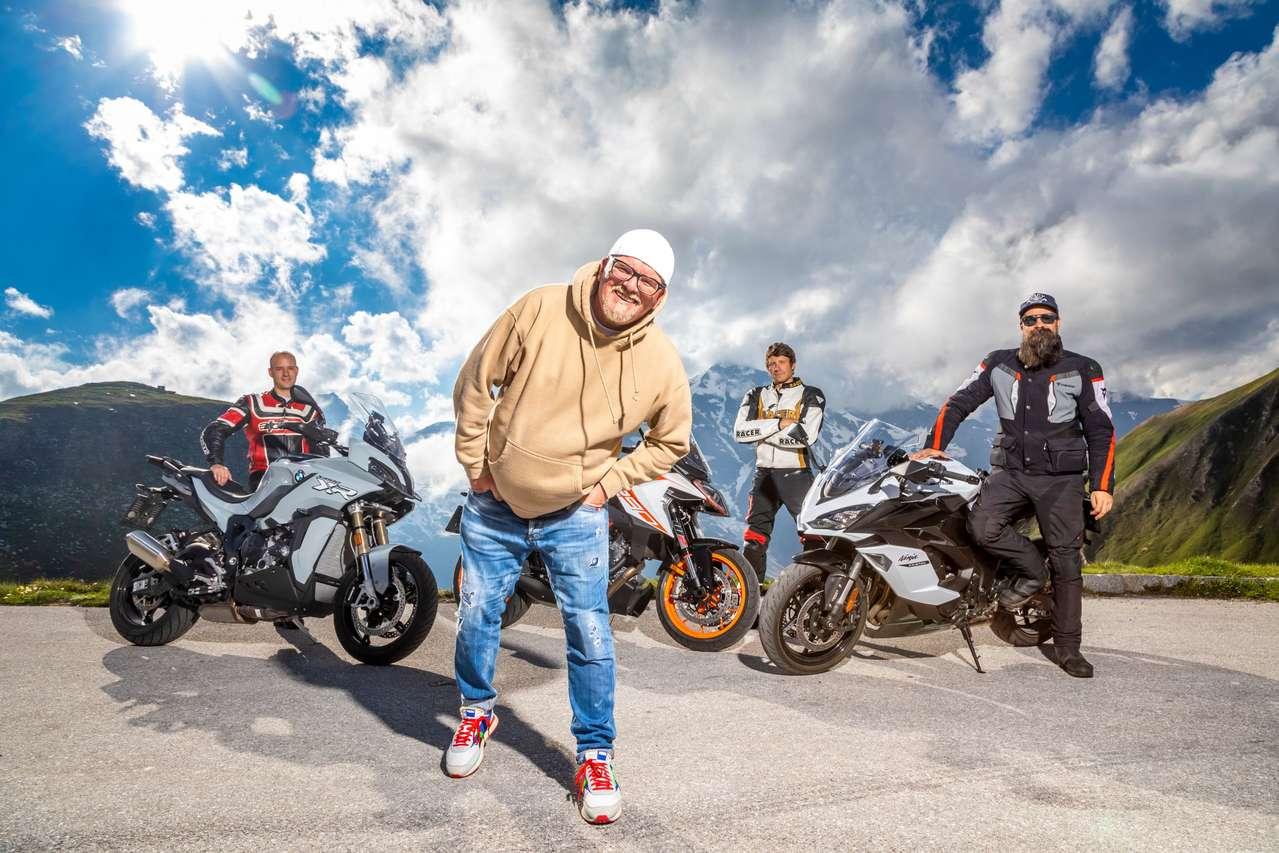 DJ Ötzi und das MM-Testteam