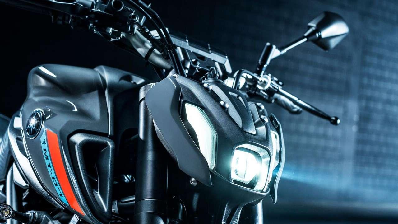Yamaha MT-07 2021 Scheinwerfer