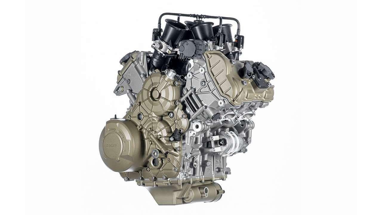 Der neue V4-Motor mit 1158 Kubik Hubraum soll 170 PS leisten.