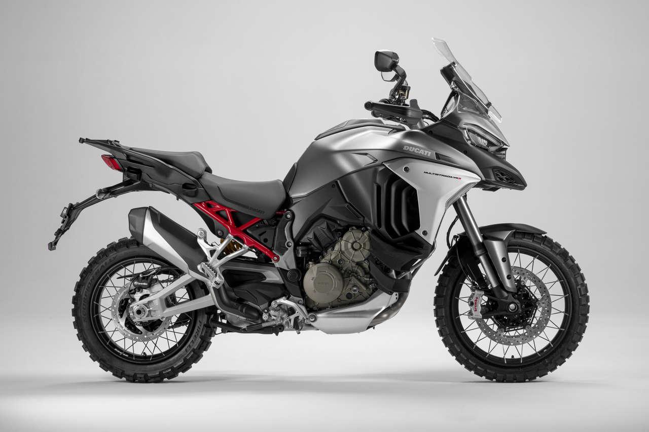 Ducati Multistrada V4 S - mit elektronischem Fahrwerk