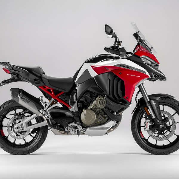 Ducati Multistrada V4 S Sport - Akrapovic und Carbon-Kotflügel