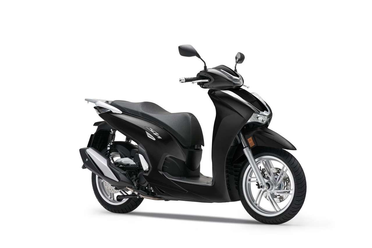Honda SH350i - Black