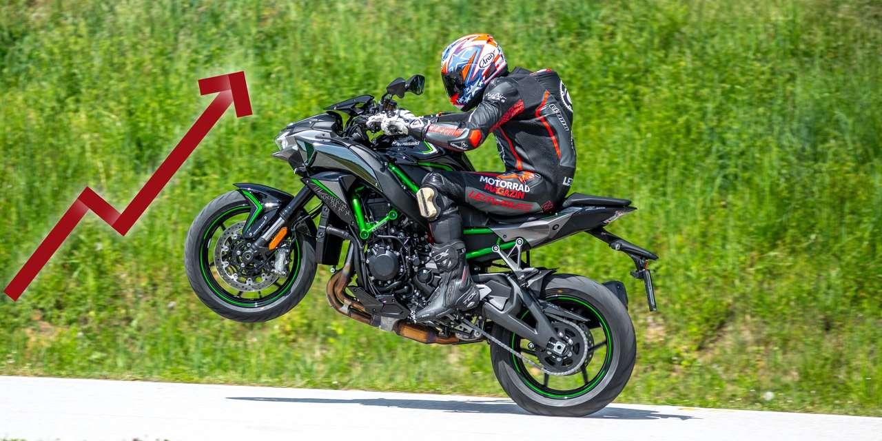 Kawasaki im Hoch! Foto © Kurt Pinter