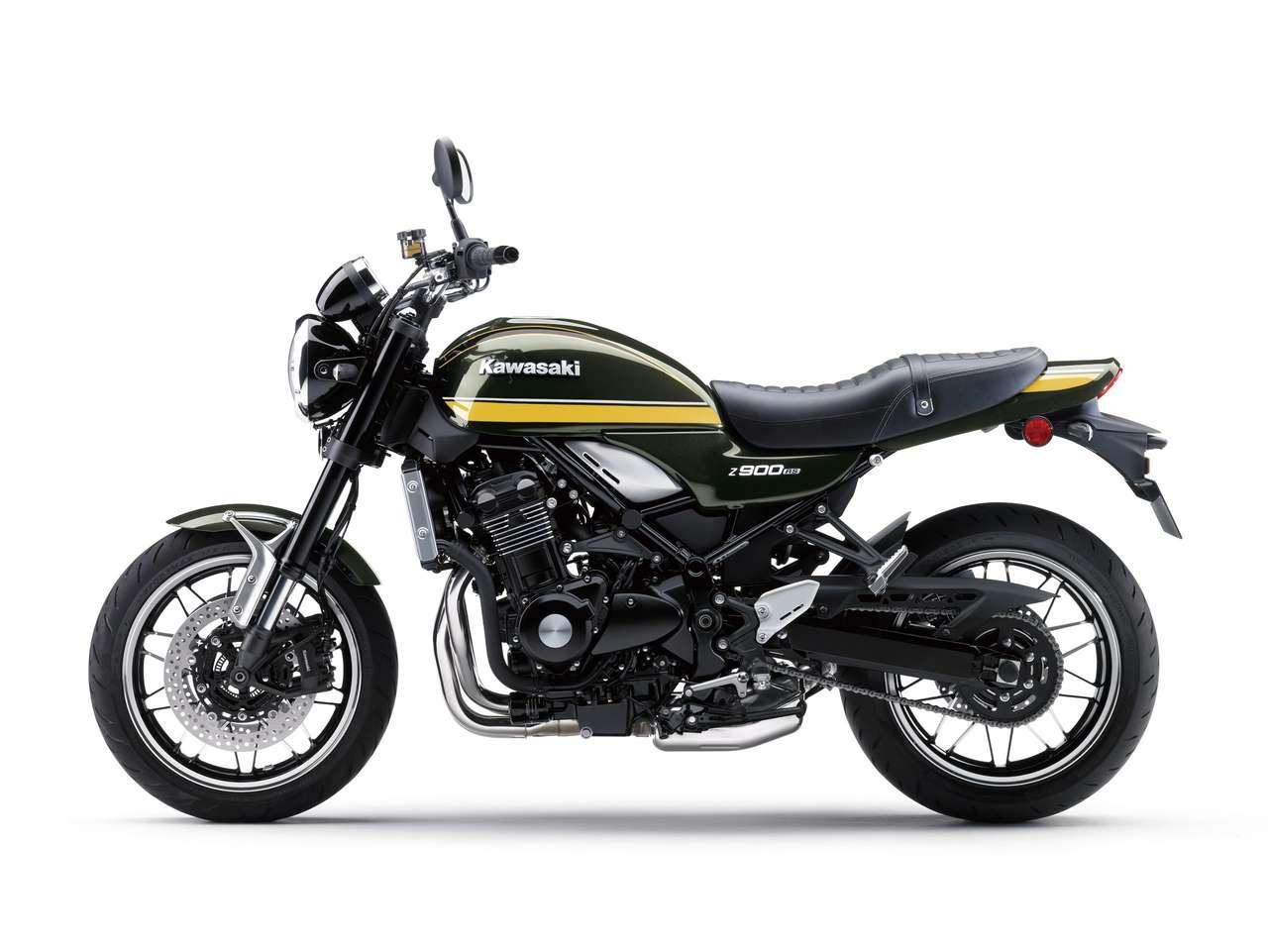 Kawasaki Z900RS 2021 - Candytone Green
