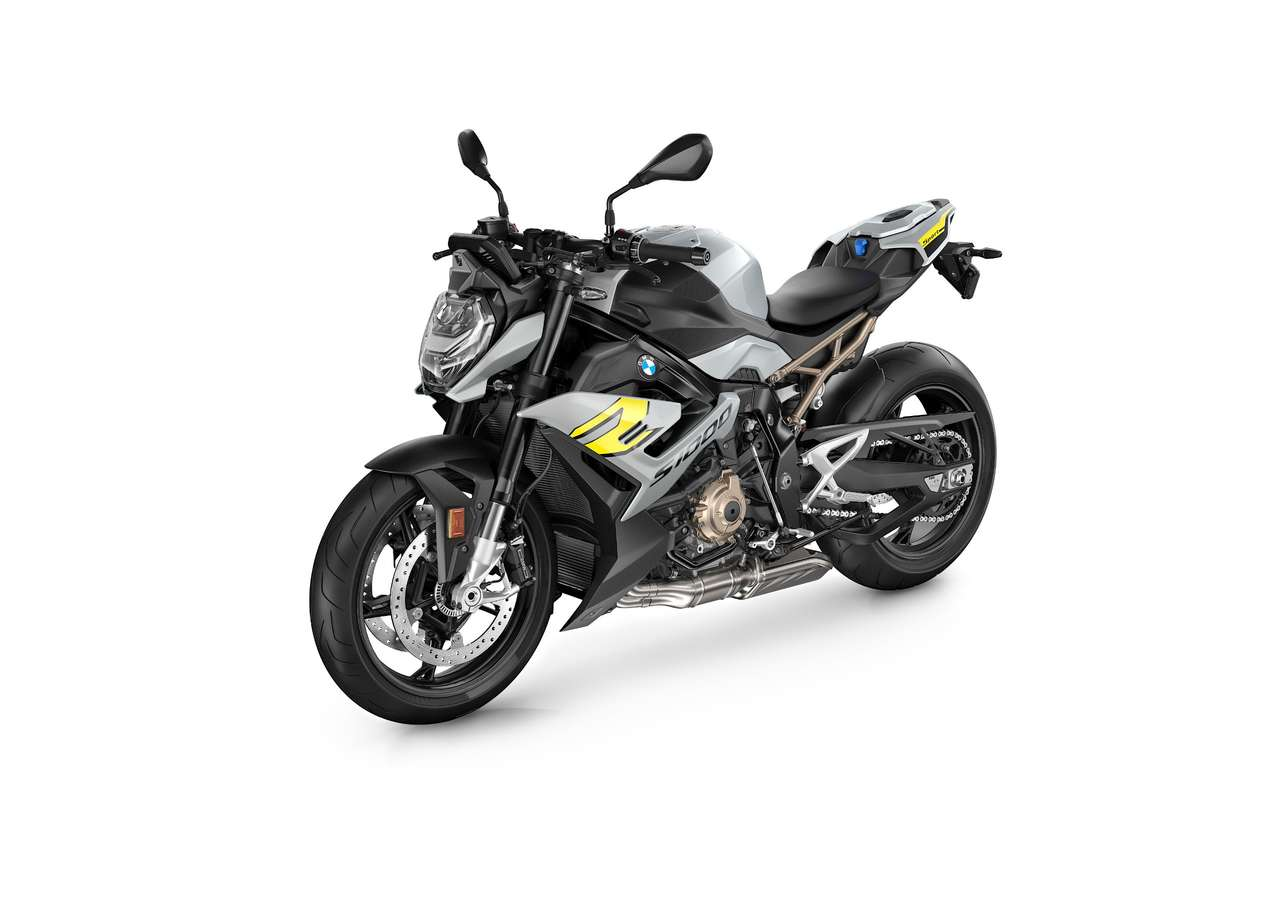 BMW S 1000 R 2021 in Silber