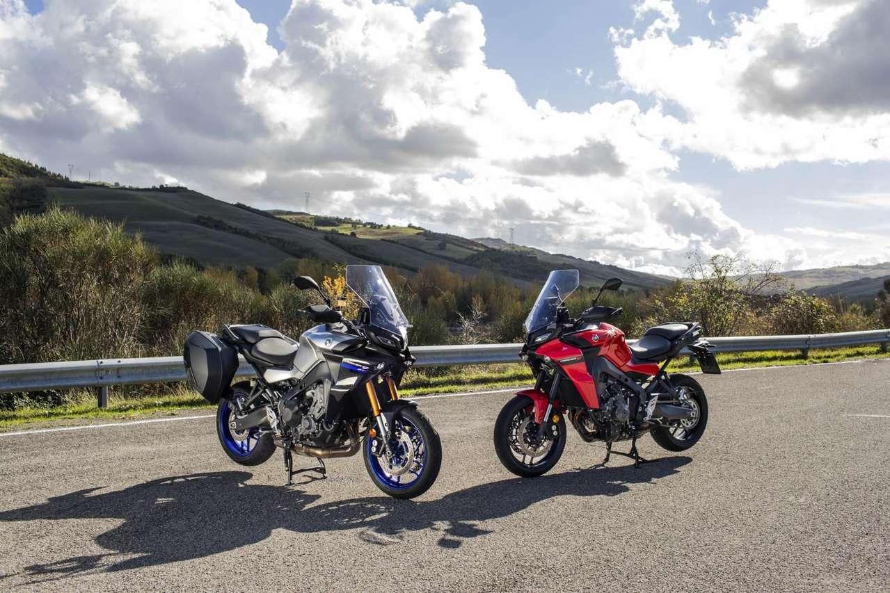 Yamaha Tracer 9 GT und Tracer 9 2021
