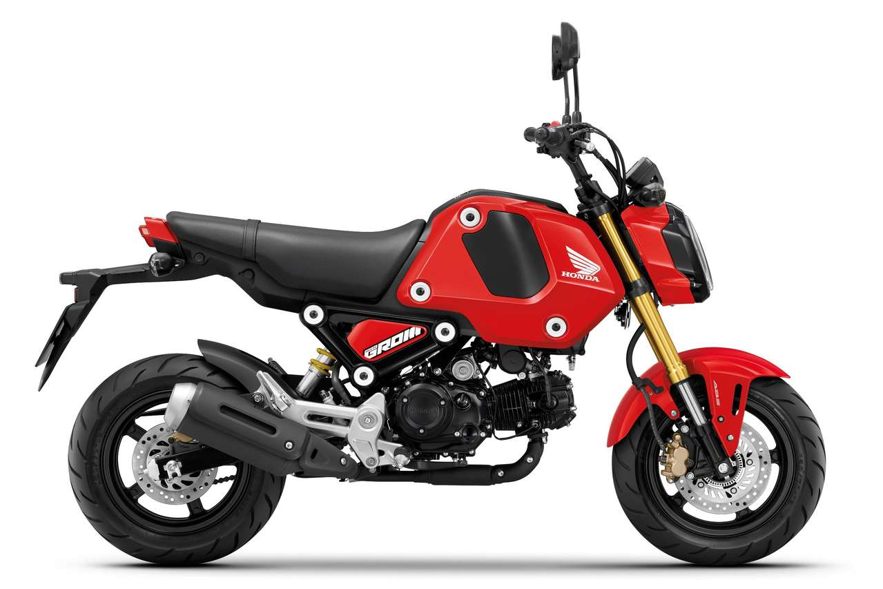 Honda MSX125 Grom - Gaiety Red