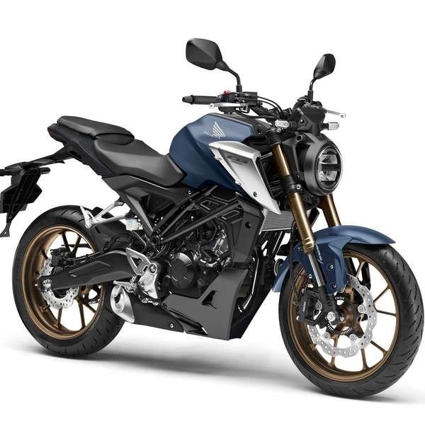 Honda CB125R 2021 - Matt Jeans Blue Metallic