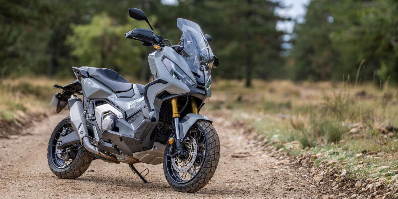 Honda X-ADV 2021 - Pearl Deep Mud Grey