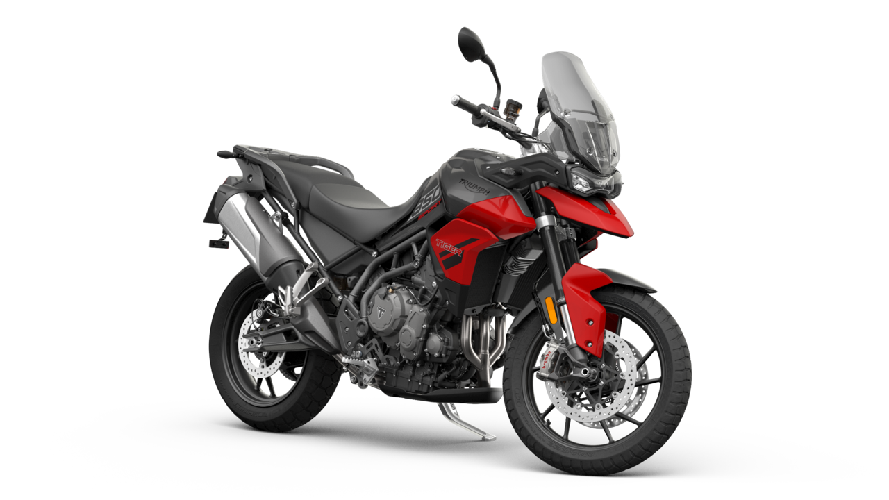 Triumph Tiger 850 Sport – Graphite / Diablo Red