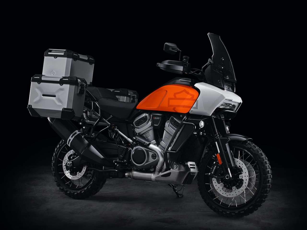 Kommt rechtzeitig zum Saisonstart 2021: Harley Pan America.
