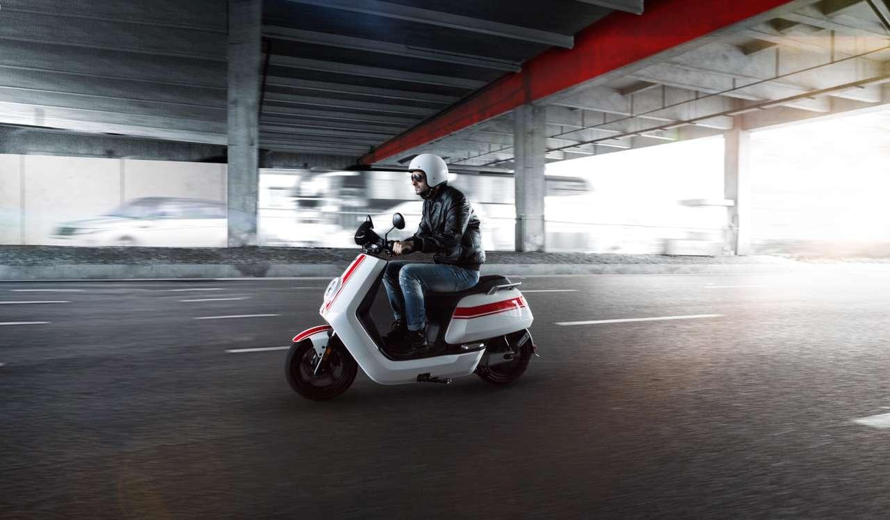 Geförderte Elektromobilität auch 2021 –beispielsweise bei Scooter der Marke Niu.