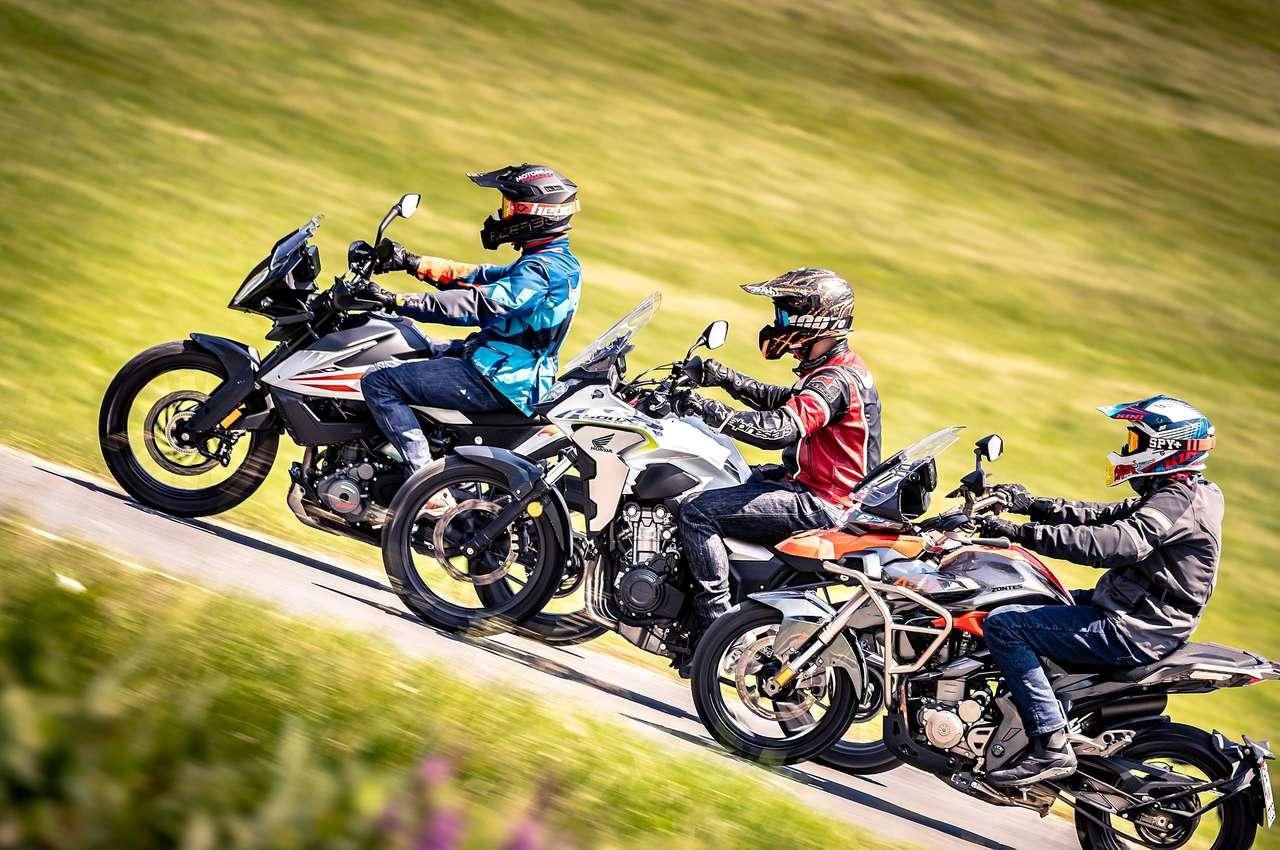 KTm 390 Adventure, Honda CB500X, Zontes T310