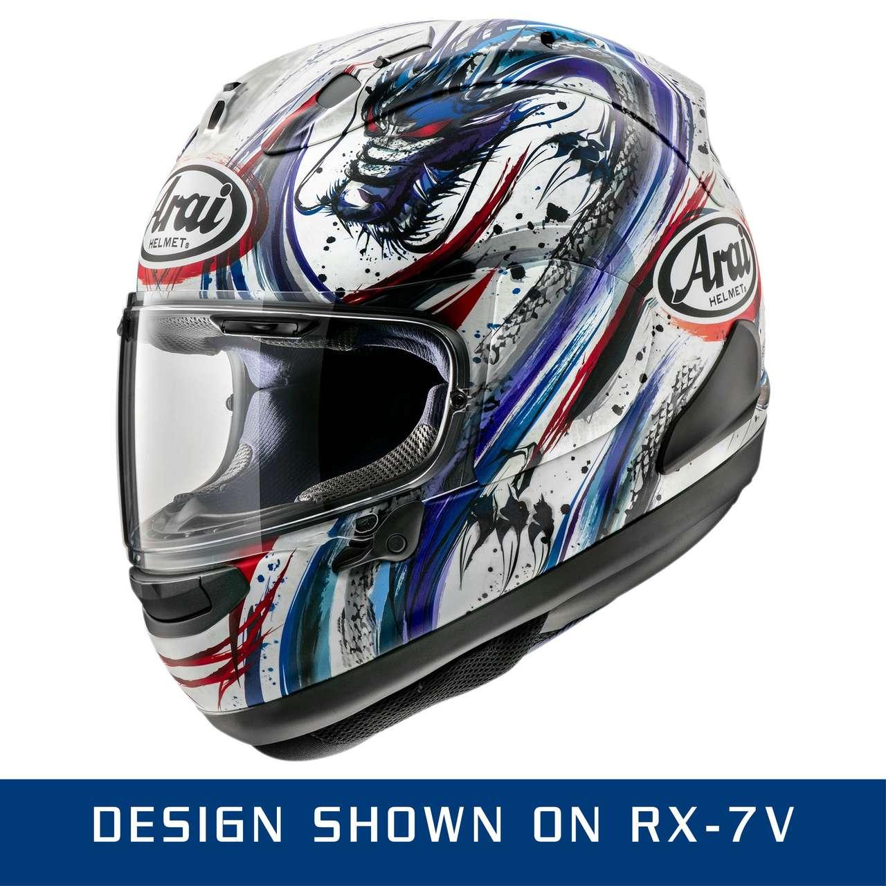 Arai Spoiler ex2 Modern Grigio rx-7v Racing
