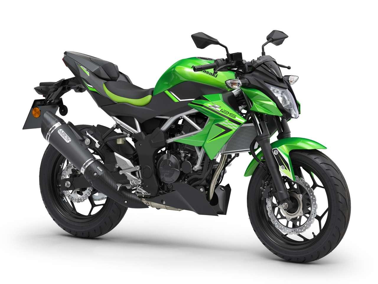 Kawasaki Z125 mit Performance-Paket