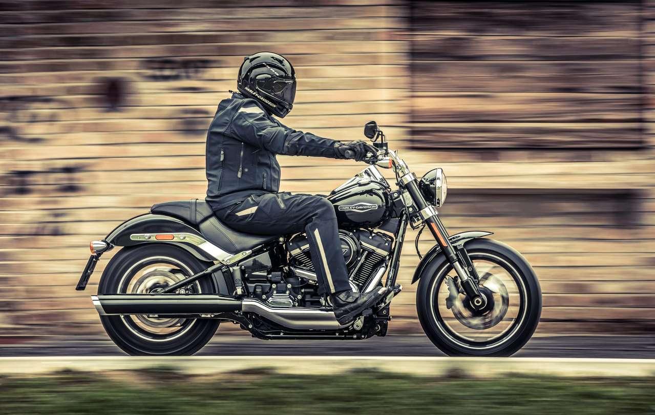 Schönlaub in Harley auf Harley