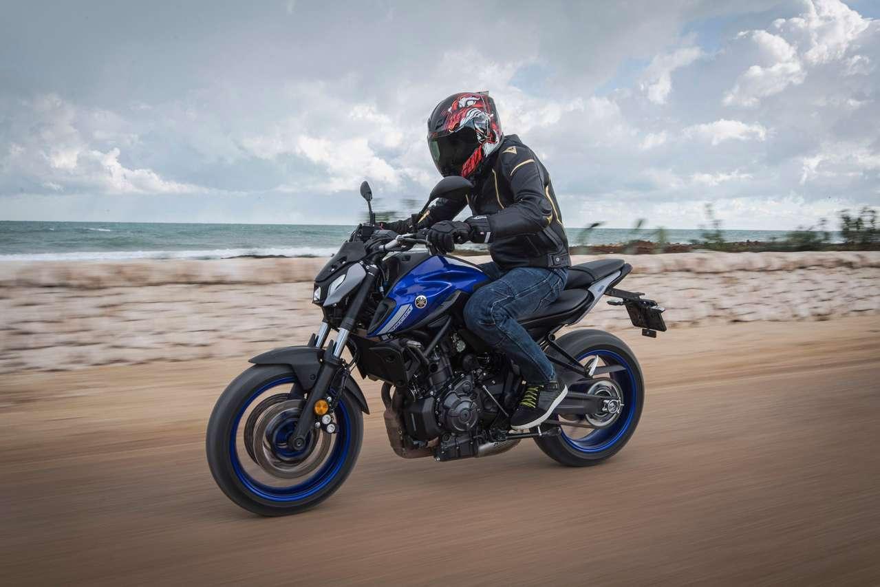Yamaha MT-07 2021 mit Sport Pack Pro