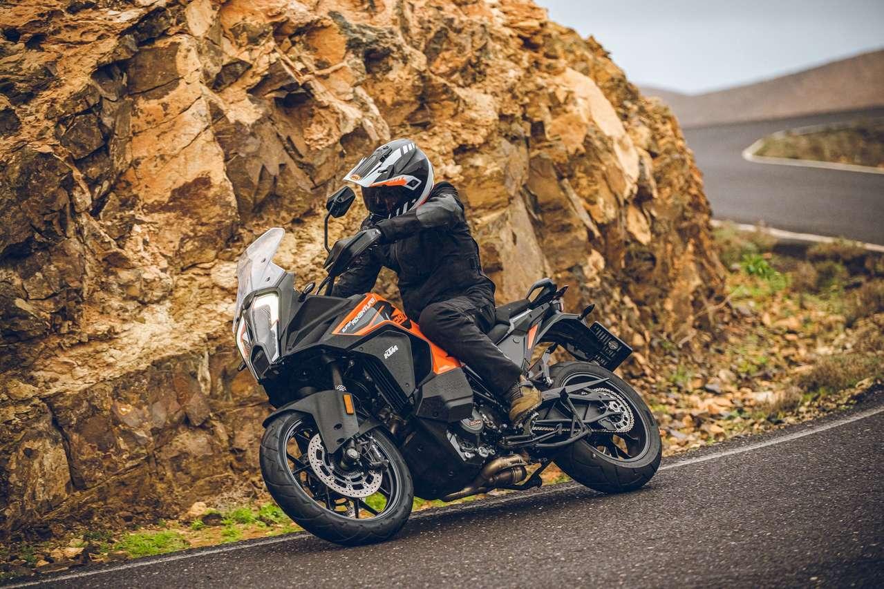 Die KTM 1290 Super Adventure S 2021 beim Test in Fuerteventura