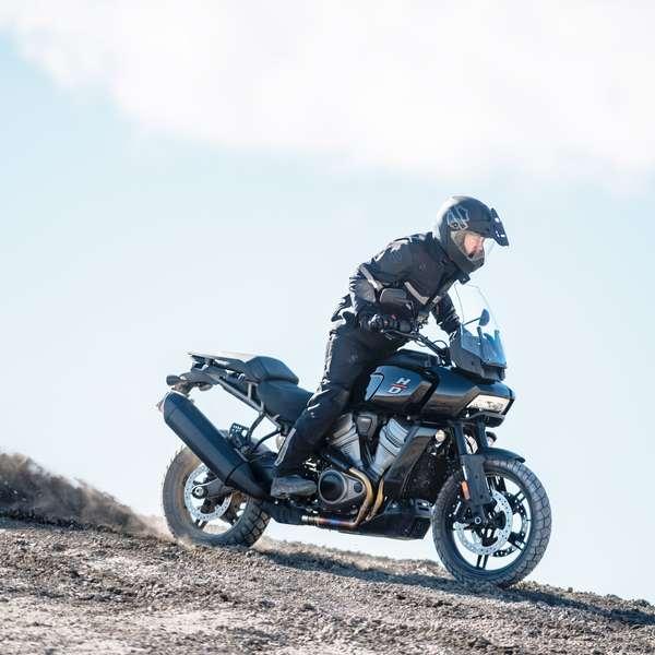 Harley Pan America als Basismodell ...