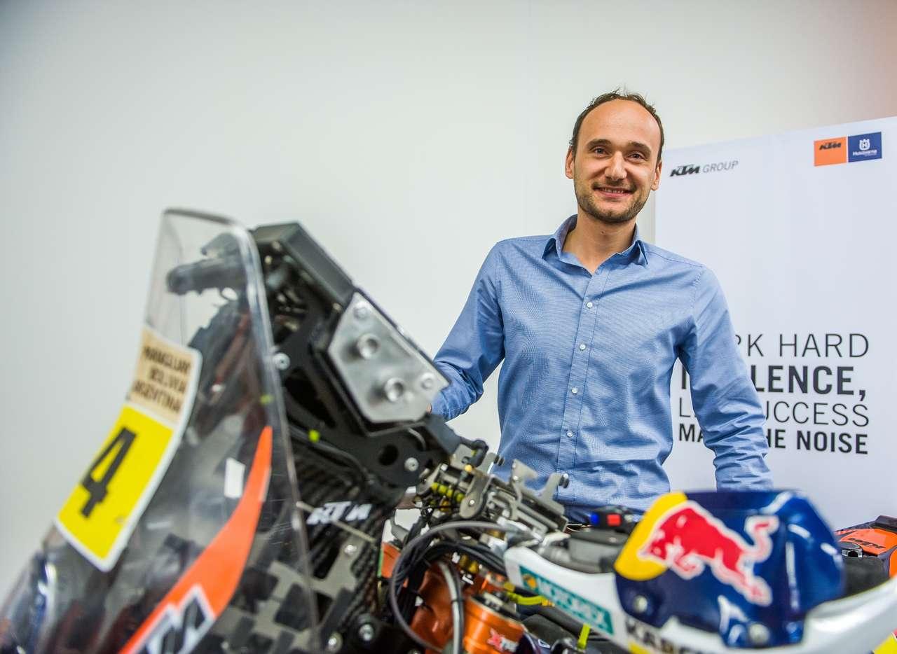 Chris Schipper, Chef von KTM Österreich und Mit-Initiator des Austrian Junior Cup.