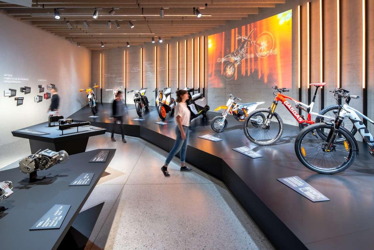 Sonderschau in der KTM Motohall