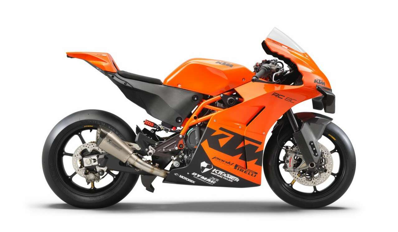 KTM RC 8C Superbike 8