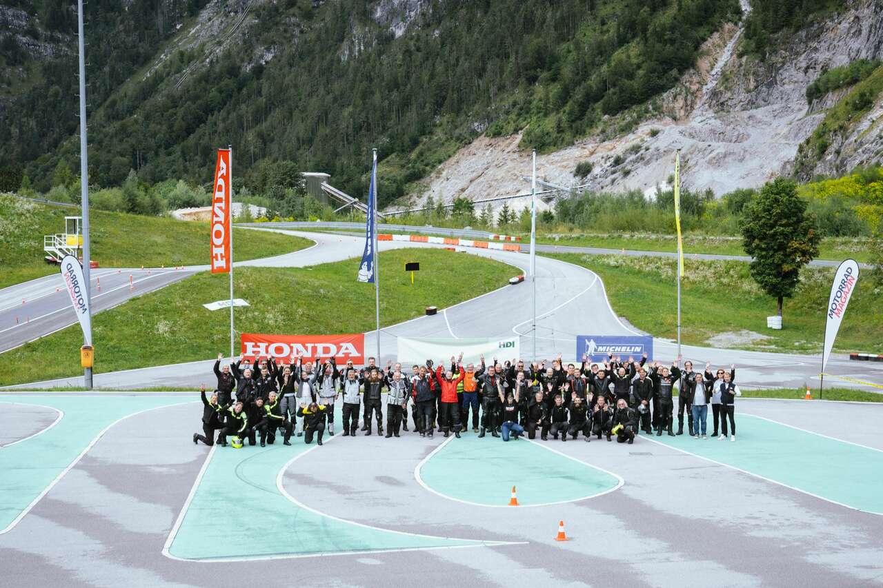 44 Finalisten traten beim Schlussakt von Österreichs sicherstem Motorradfahrer 2021 an. Alle Fotos: Bronislav Rohal